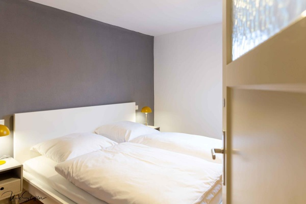 Schlafzimmer 2 mit Schrank