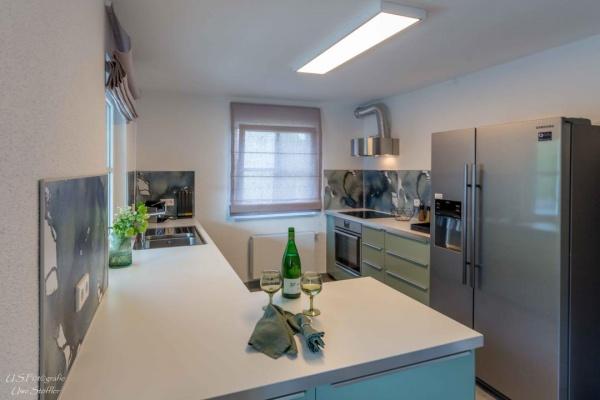 Mittelpunkt des Hauses – die Wohnküche