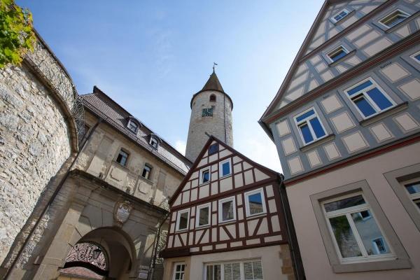 Kirchberg - beeindruckende Kulisse in der Altstadt