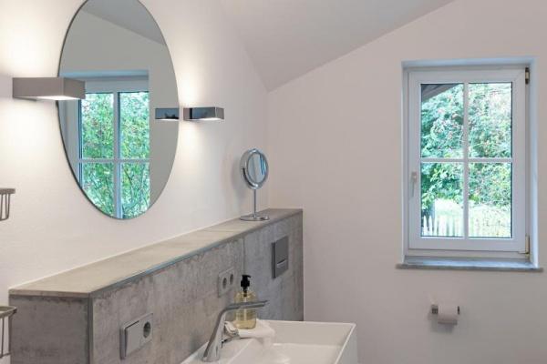 Modernes Bad mit hochwertiger Ausstattung