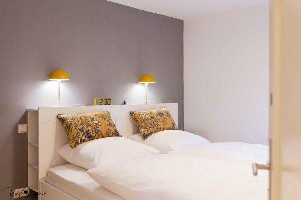 Schlafzimmer 3 mit Kleiderständer