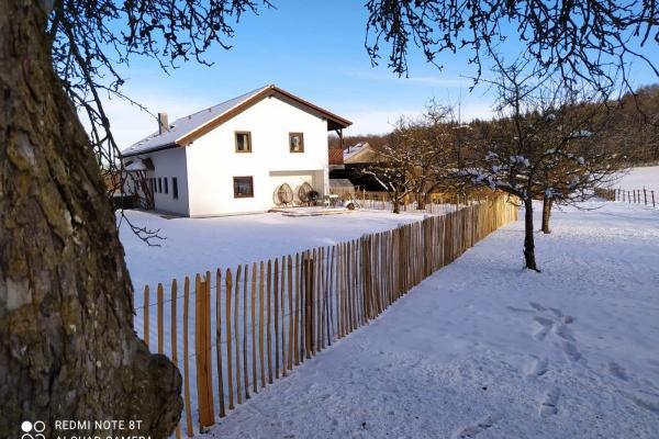 Genießen Sie Wintertage in der traumhaften Wohnung mit Infrarot-Wärmekabine