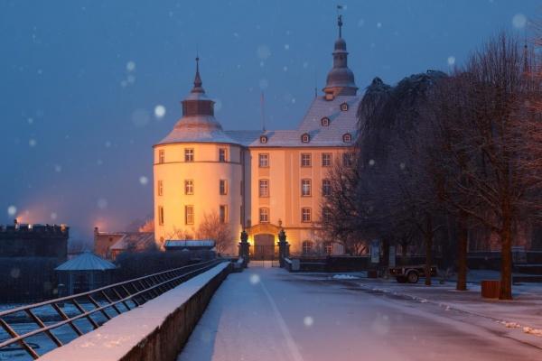 Das Schloss im Winterkleid