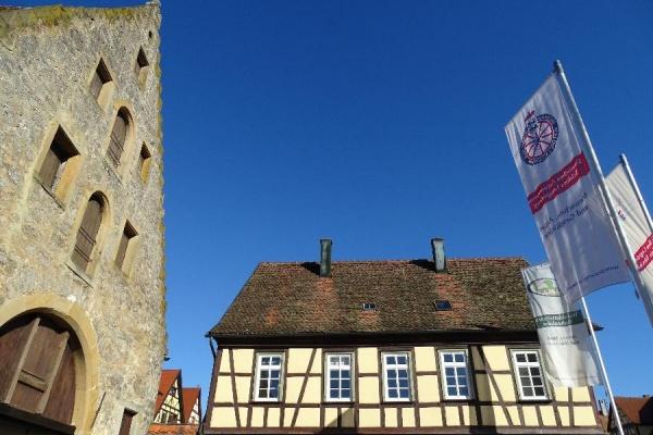 Historisches Fachwerkhaus 'Kutscherhaus' in nächster Nähe zum Schloss Langenburg