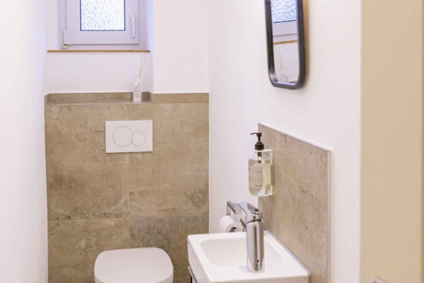 Separates WC im EG und 1. Stock